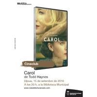 Cineclub: Carol, de Todd Haynes.