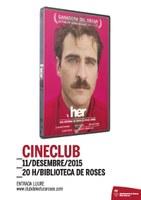 Cineclub: Her, del director Spike Jonze