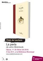 Club de lectura d'adults: La perla, de John Steinbeck