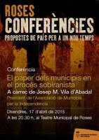 """Conferència """"El paper dels municipis en el procés sobiranista"""""""