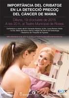 """Conferència """"La detecció precoç del càncer de mama"""""""