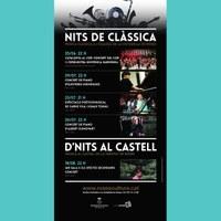 D'nits al castell: Concert d'Ian Sala i Els Efectes Secundaris. Gira castells.