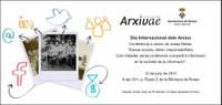 Dia Internacional dels Arxius. Conferència