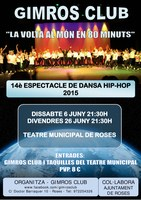 Espectacle de dansa Hip Hop Gimros Club 2015