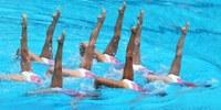 Exhibició de natació sincronitzada