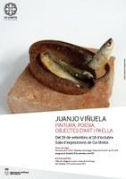 """Exposició de Juanjo Viñuela: """"Pintura, poesia, objectes d'art i paella"""""""