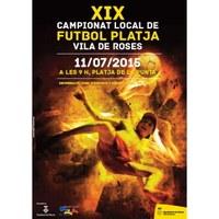 XIX Campionat de Futbol platja