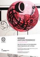 "Exposició ""Connexions"" d'Antoni Federico"
