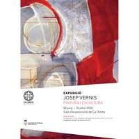 Inauguració exposició de l'artista Josep Vernis