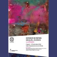 Inauguració exposició de l'artista Miquel Duran
