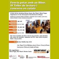 IV Taller de lectura i conversa en català