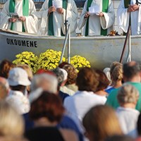 Missa Internacional Oikumene. Tot seguit, havaneres amb els Pescadors de Roses i Terra Endins