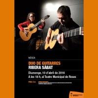 Música: Duo de guitarres Ribera Sabat.