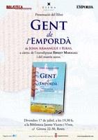 """Presentació del llibre """"Gent de l'Empordà"""", de Joan Armangué"""