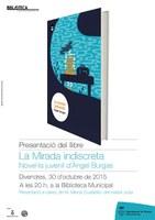 """Presentació del llibre """"La mirada indiscreta"""",  d'Àngel Burgas"""