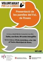 """Presentació del llibre """"Verba, non facta"""", a càrrec de David Vila i Ros"""