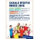 Reunions informatives dels Casals Municipal d'Estiu i de l'Estiu Jove