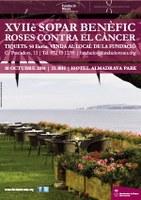 Sopar benèfic de la Fundació Roses Contra el Càncer