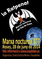 Sortida de marxa nocturna en BTT: Ratpenat