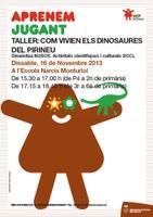 "Taller ""Com vivien els dinosaures del Pirineu"""