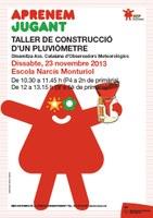 """Taller """"Construcció d'un pluviòmetre"""""""
