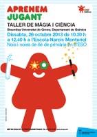 Taller de màgia i ciència