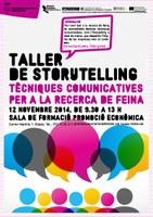 Taller de relat  de marca (storytelling) per a la recerca de feina
