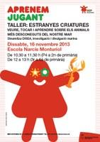 """Taller """"Estranyes criatures"""""""