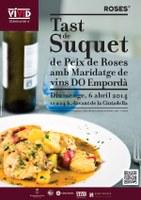 Tast de suquet de peix de Roses amb maridatge de vins DO Empordà