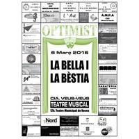 Teatre d'Optimist: La Bella i la Bèstia