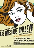Teatre:  Dues dones que ballen