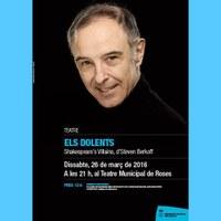 Teatre: Els Dolents (Shakespeare's Vilains), d'Steven Berkoff