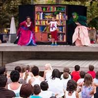 Teatre musical itinerant: El harmonicista