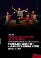 """Teatre """"T'estimo, ets perfecte, ja et canviaré"""""""