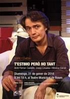 Teatre: T'estimo, però no tant, de Miguel Murga