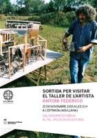 Visita al taller de l'artista Antoni Federico