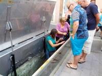Visita guiada al refugi antiaeri de la plaça de la Pau