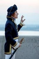 Visita guiada teatralitzada amb vista dels focs des del Castell: Lord Cochrane i els últims dies del Castell