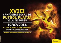 XVIII Campionat Local de Futbol Platja