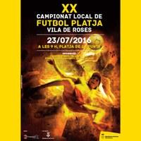 XX Campionat Futbol Platja