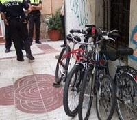 Bicicletes recuperades 14 d'agost