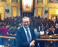 Carles Pàramo al Congrés dels Diputats