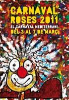 Cartell Carnaval de Roses 2011