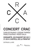 concert CRAC Castell Trinitat