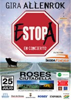 El cartell del concert