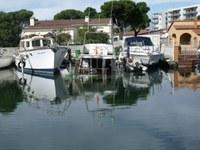 Embarcació enfonsada canal Llebeig