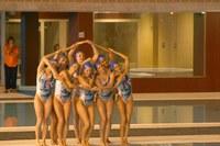 Exhibició natació sincronitzada
