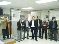 Exposició Transformacions cosides a màquina. Abril 2009