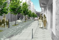 Fotocomposició carrer Nou