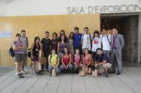Grup estudiants participants campanya arqueològica
